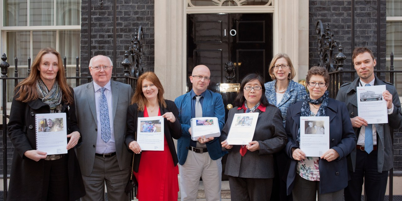 Parents petition political leaders to bring their children with a learning disability home