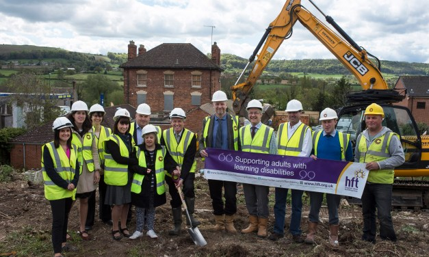 BREAKING GROUND TO HELP PEOPLE WITH LEARNING DISABILITIES