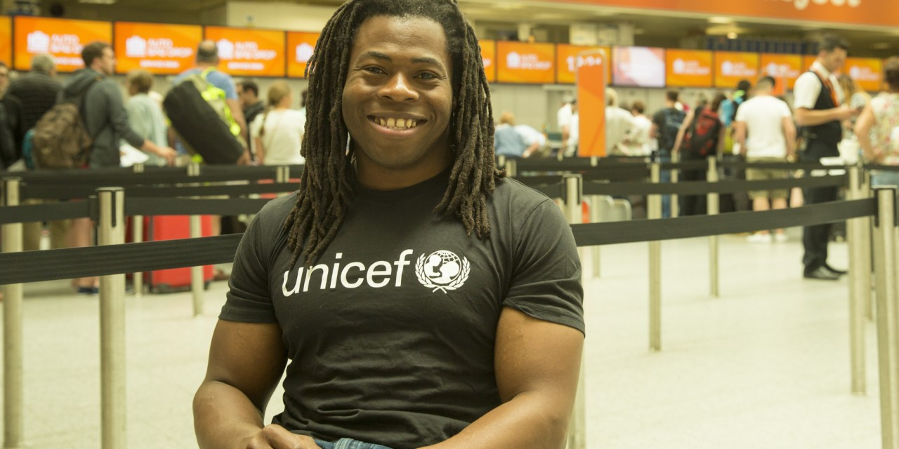 PARALYMPIAN ADE ADEPITAN TELLS FIRST HAND ACCOUNT OF HIS POLIO EXPERIENCE