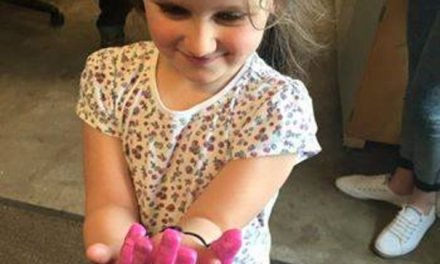 Robotic 'Barbie' hand built for young girl born with rare birth defect