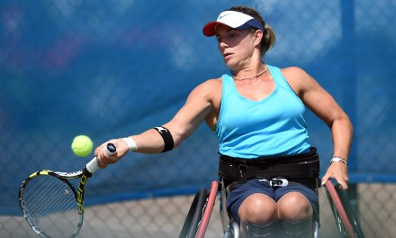 Whiley and Lapthorne into last 8 at British Open Wheelchair Tennis Championships