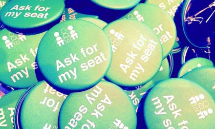 Launch of 'Ask For My Seat' badge