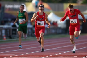 during day two of the IPC Athletics World Championships on July 21, 2013 in Lyon, France.