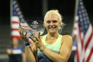 Jordanne Whiley makes history as first British woman to win US Open singles trophy (Copyright Tennis Foundation)