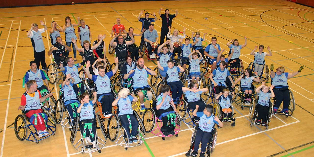 Lothian Phoenix Wheelchair Basketball Team Put Sponsor Through Its Paces