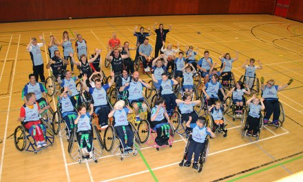 Lothian Phoenix Wheelchair Basketball Team Put Sponsor Through Its Paces