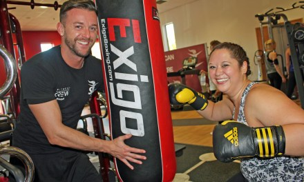 Specialist gym gets paralysed woman back on her feet