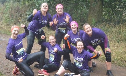 Get active and challenge yourself in aid of Canine Partners this year