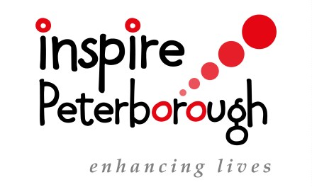 Disability Peterborough holding Inspire Inclusive Sports Project