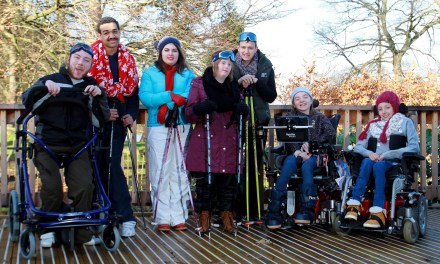 Dream made reality as Cheltenham students with disabilities take to the piste