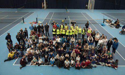 Annual disability tennis festival serves up aces