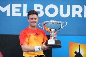 Australian Open men's singles champion Gordon Reid