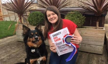 Teenager launches online dog show for Dog A.I.D.