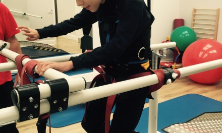 £55,000 CHARITY APPEAL FOR MACHINE TO ENABLE  DISABLED CHILDREN TO WALK