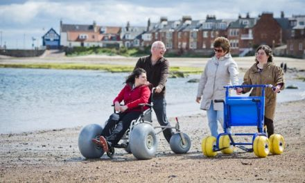 North Berwick beaches made accessible for all