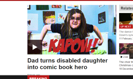PosAbility Magazine featured in Department of Ability BBC News Video