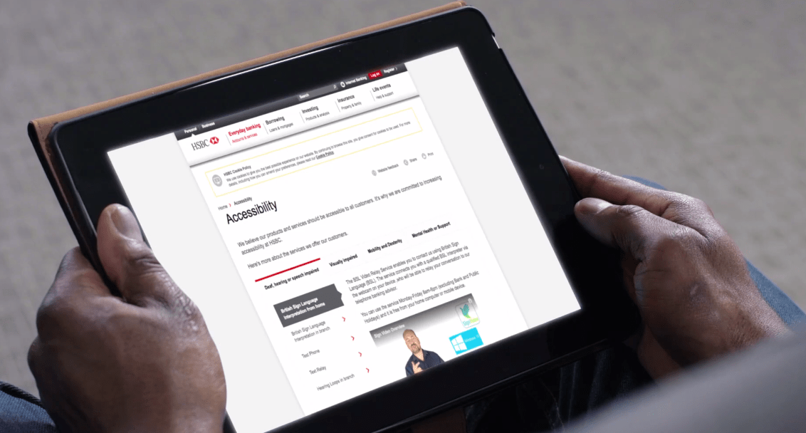 HSBC and first direct announce launch of British Sign Language Service