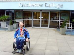 Luis Coward at Chichester College