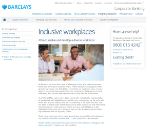3 Inclusive workplaces