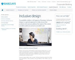 5 Inclusive design