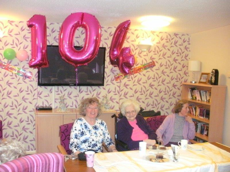 Birthday Tradition a Big Hit at Bield