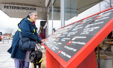 Tactile maps pave the way for improved access for blind people at railway stations