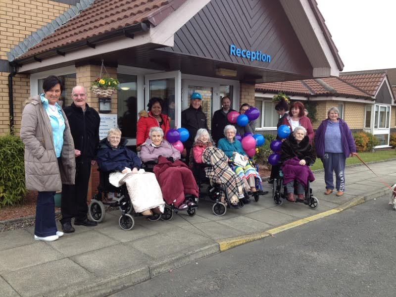 Glasgow care home walks the way to fundraising success