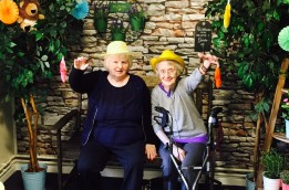 Indoor garden is blooming marvellous addition to care home