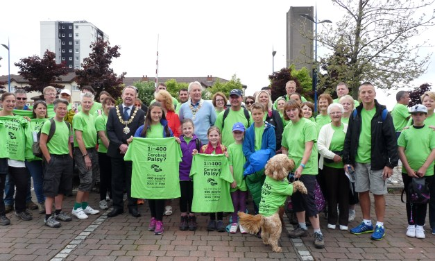 Stick 'n' Step supporters make fundraising strides on the Wirral Walk