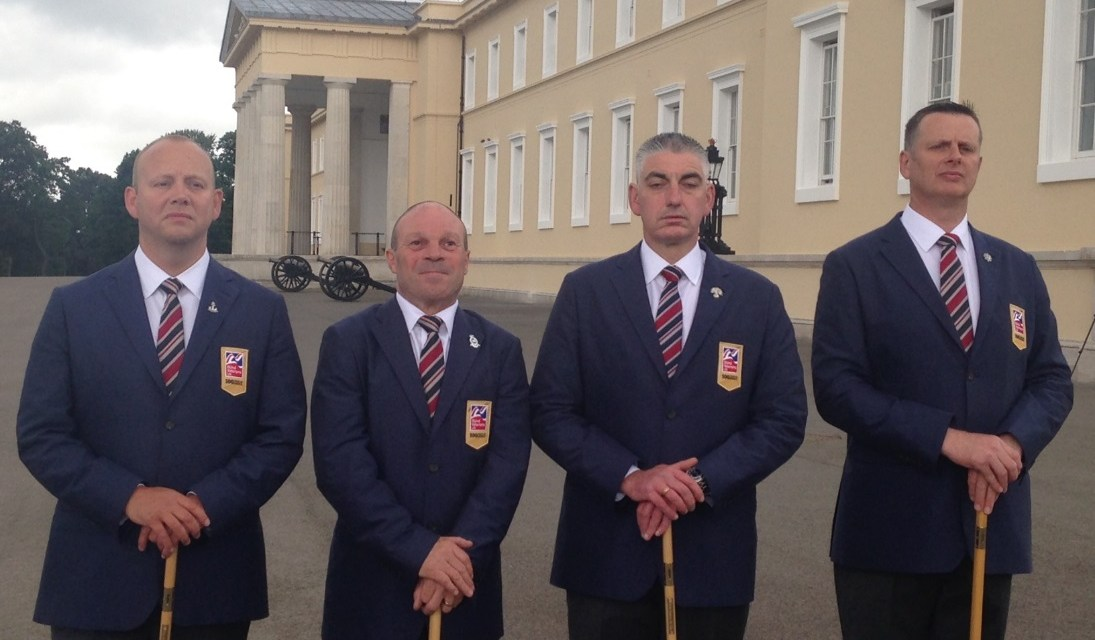 Three blind veterans make history at Sandhurst world championships