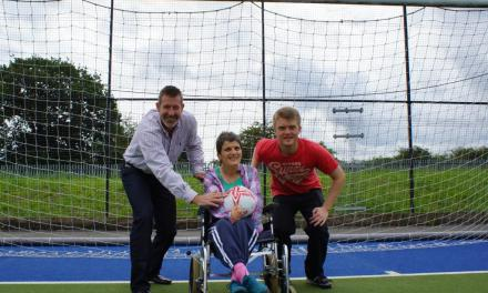 "Nigel Martyn Kicks Off Disability Action Yorkshire's ""Own Goals"" Buddying Scheme"