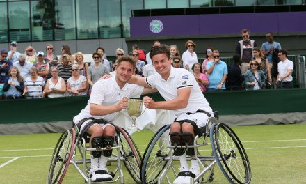 Reid and Hewett win historic Wimbledon wheelchair tennis doubles title