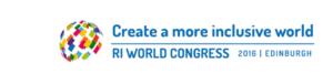 RI World Congress - main conference logo