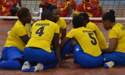 Charity CBM sponsoring Rwandan women's sitting volleyball team for Rio
