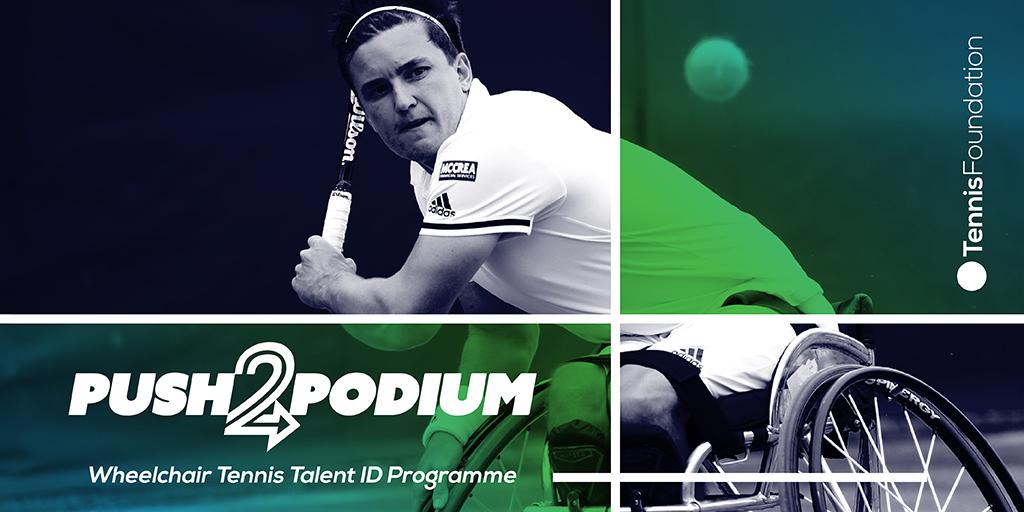 Wimbledon champions support new Wheelchair Tennis Talent ID scheme