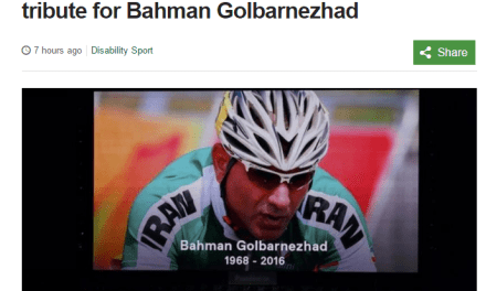 Rio 2016 Paralympic Games brought to a close with tribute to Iranian cyclist