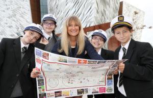 Titanic Belfast - School Visit - 27th September 2016 Photograph by Declan Roughan
