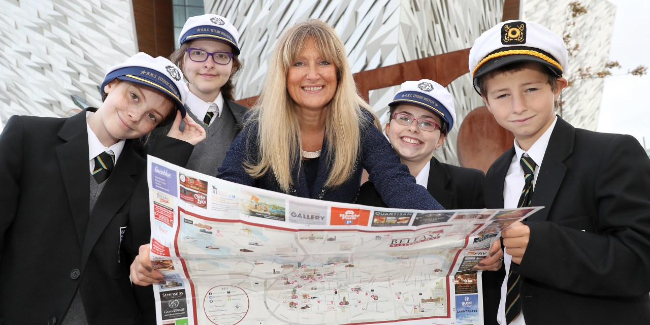 Titanic Belfast celebrates World Tourism Day with Castle Tower School