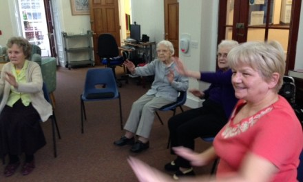Exercise Class has Tenants Sitting Up and Taking Notice