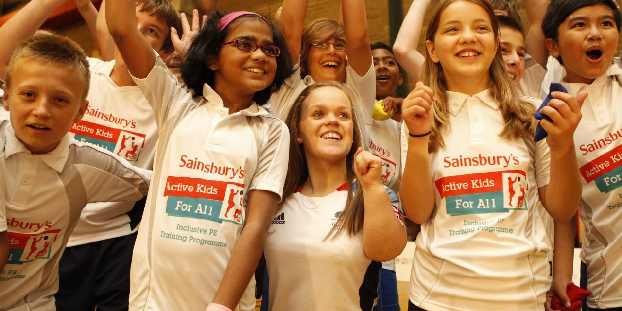 Sainsbury's Active Kids for All Inclusive PE Training success with Ellie Simmonds