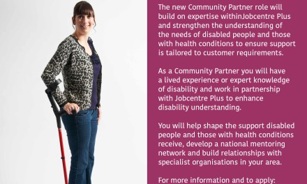Apply to be a Community Partner and help shape the support for disabled people in your area