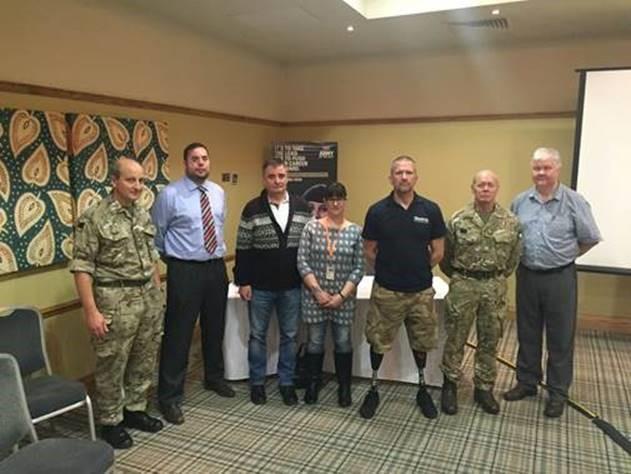 Blind Veterans UK supports GP training days to improve understanding of veterans' health