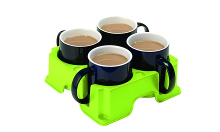The safest drinks tray in the world