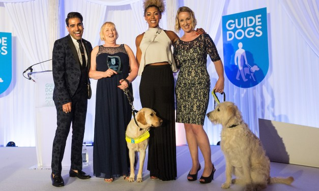 Winners revealed at the Guide Dogs Annual Awards 2017