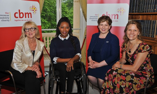 CBM UK celebrate with special guests the charity's 21st Anniversary