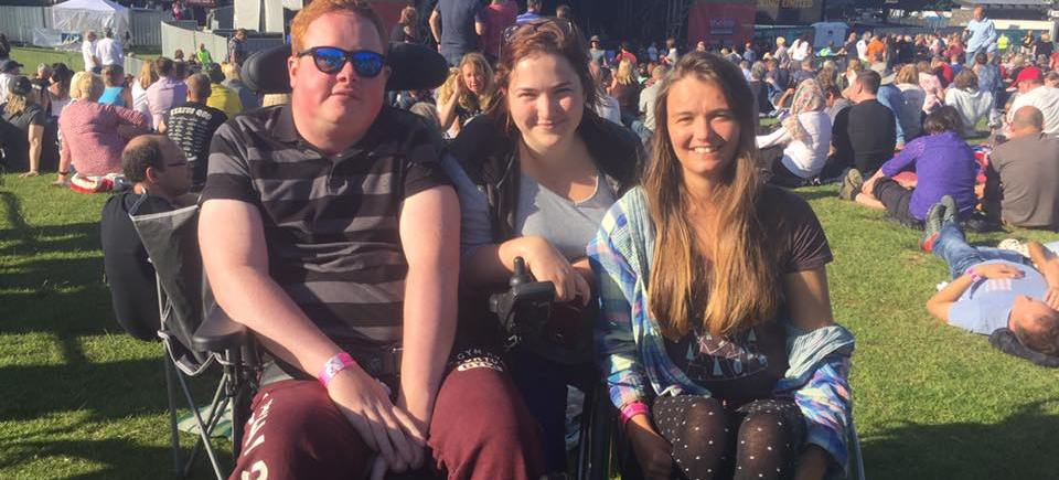 UK Charity launches new accessible festival 'Back up Fest'