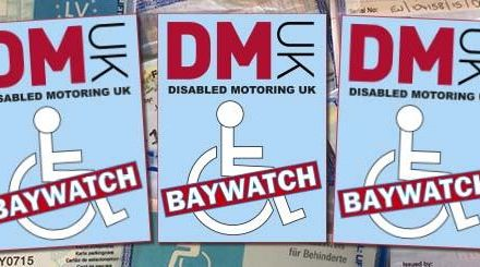Disabled Motoring UK Baywatch Campaign 2017