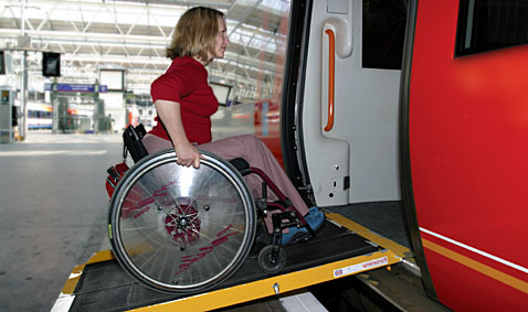 Safety for wheelchair users on trains survey