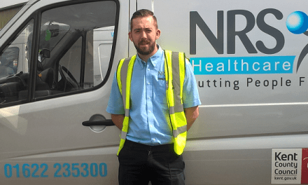 NRS van driver on delivery saves grandma's life