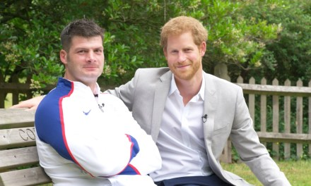 Prince Harry shows his support for World Para Athletics Championships London 2017